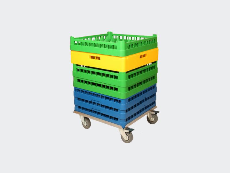 Diskkorgs- & kemvagn